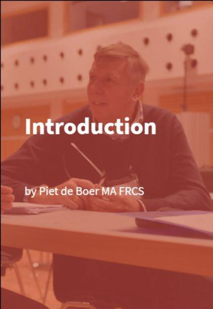 Piet de Boer MA FRCS